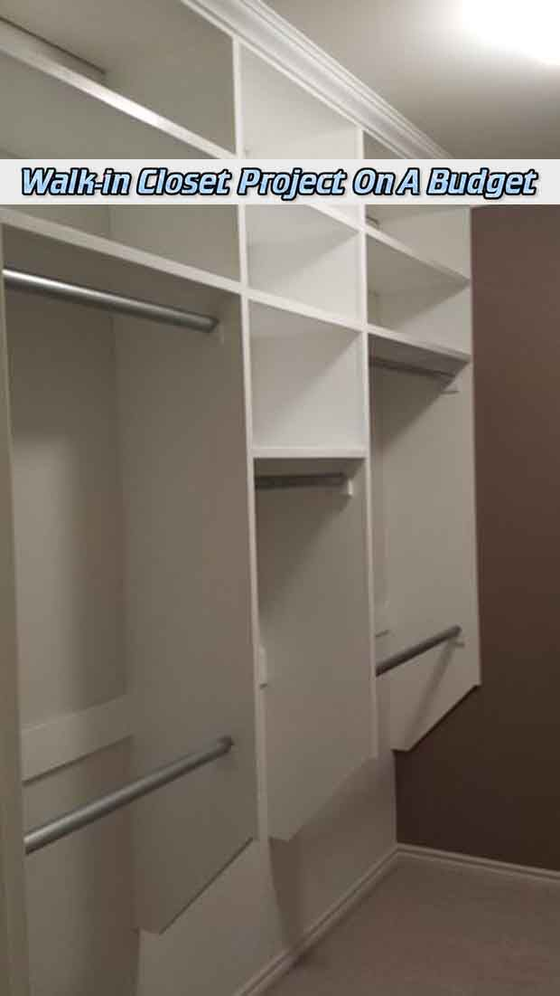 At living green and frugally we aim to provide you with lots of great tips and advice on Walk-in Closet Project On A Budget