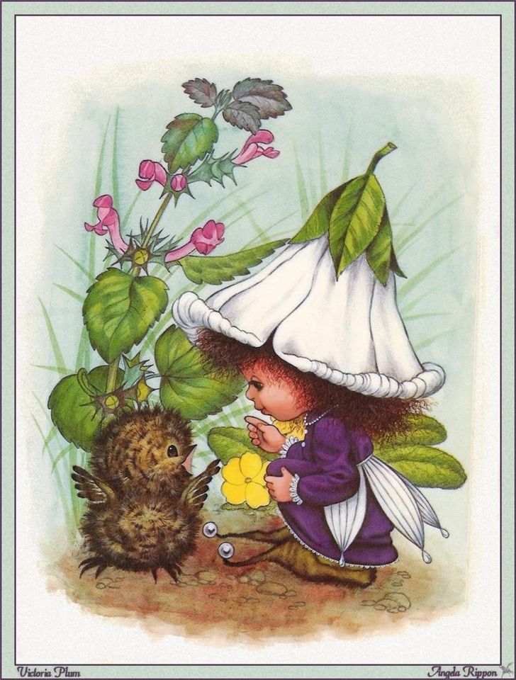 Remember Victoria Plum? Must find her books and read them to my daughter.
