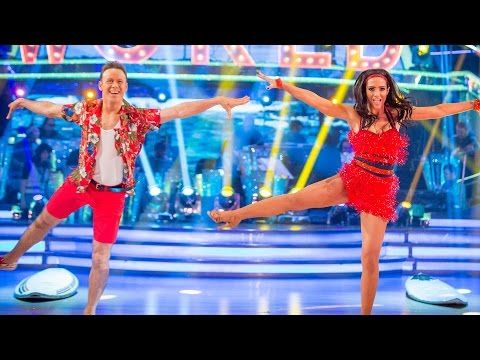 Frankie Bridge & Kevin Clifton Jive to 'Surfin' USA' - Strictly Come Dancing: 2014 - BBC One - Week 10