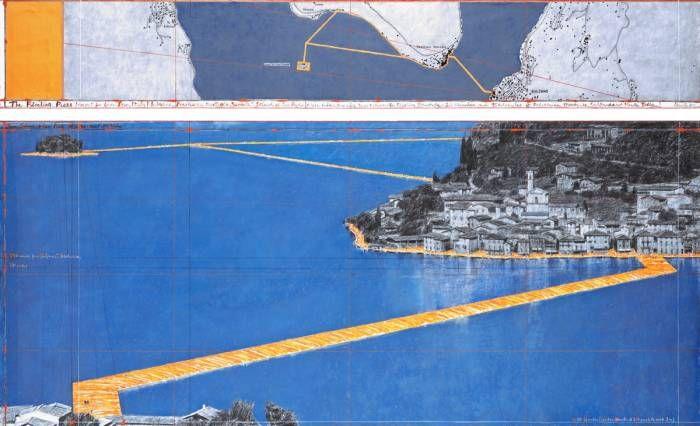 The Floating Piers, la nuova opera di Christo sul lago d'Iseo