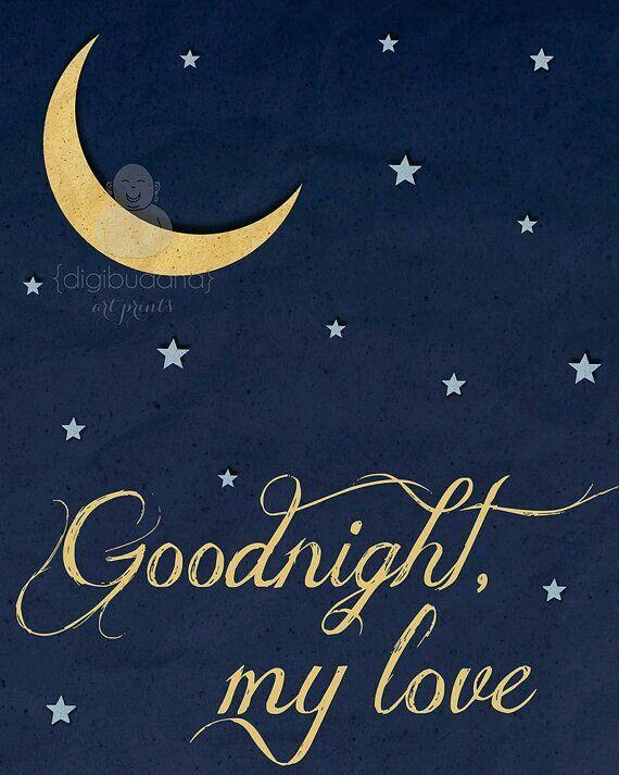 Good night baby...sweet dreams