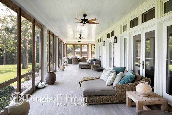 Richard Gere's home #Hamptons Relaxing open space to enjoy a cup of tea!