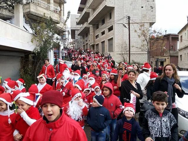 Christmas in Syria