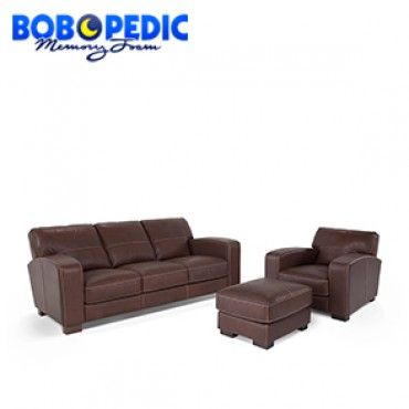 Antonio Leather Sofa, Chair
