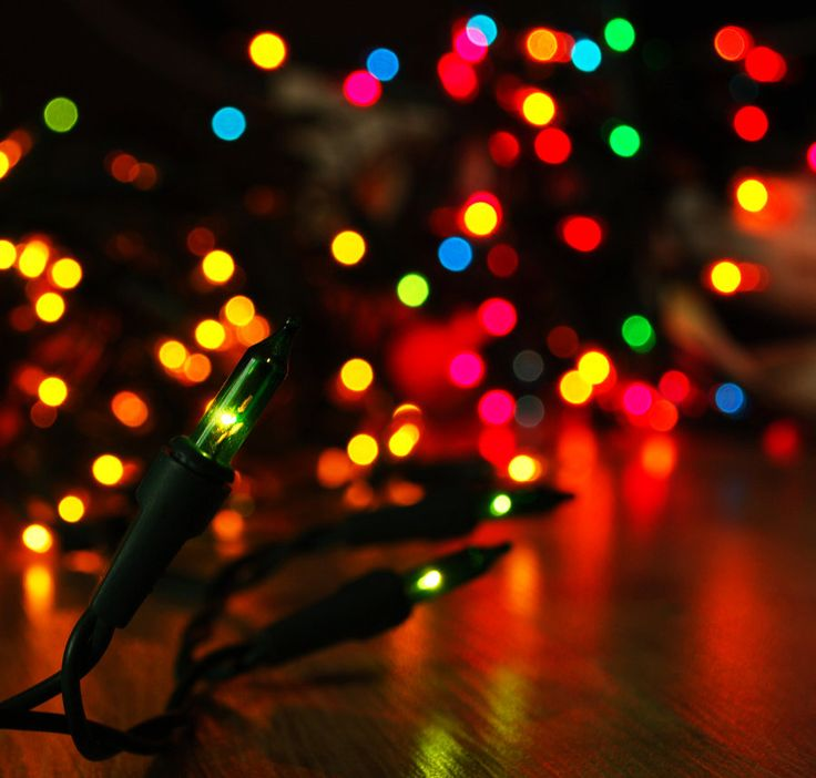 Christmas Lights By NurNurIch