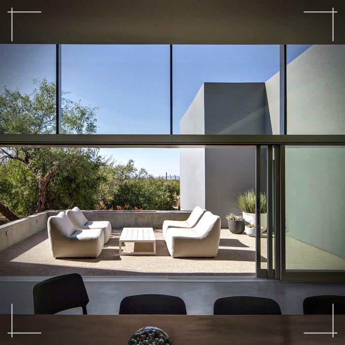 Disenos De Casas En Usa: Detalles De Una Construcción Moderna En