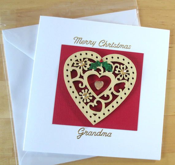 Christmas Card Grandma grandad Granny nanny nan nana