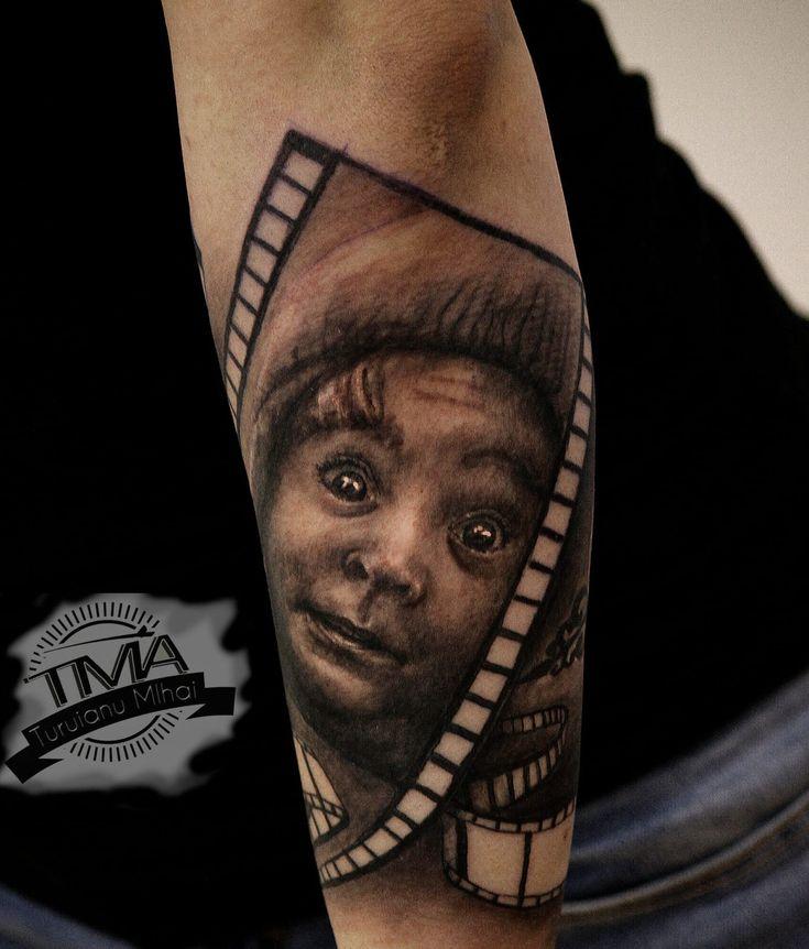 Portret tattoo / tatuaj portret