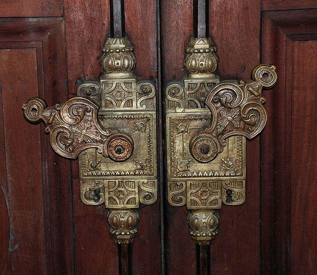 Door Lock in Catedral Metropolitana -Buenos Aires, Argentina
