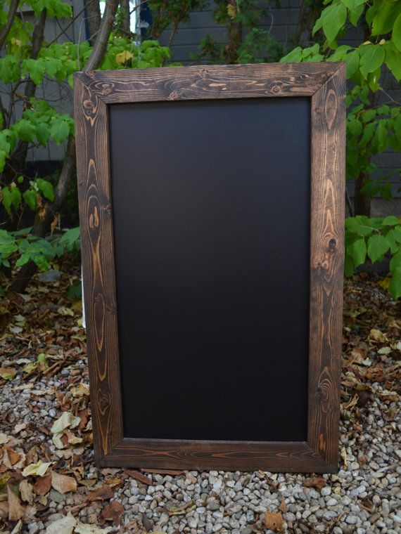 Hey, I found this really awesome Etsy listing at https://www.etsy.com/listing/157040229/large-rustic-framed-chalkboard-44x28