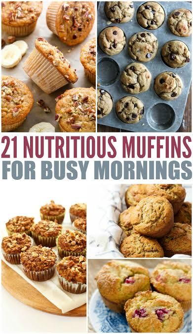 Looking for an easy morning fix? Try these 21 delicious and nutritious muffins! These recipes are great for freezing and reheating too!