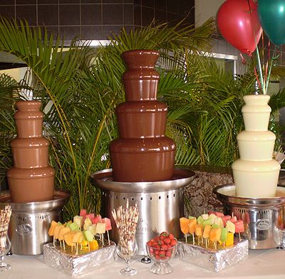 26 best images about Chocolate Fountains on Pinterest