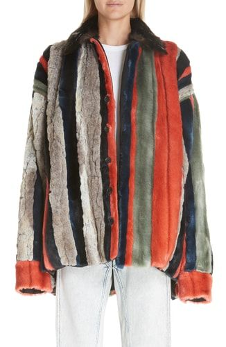 1c132ab577f4 New Y Project Oversized Multicolor Faux Fur Jacket online.   1255   fgofashion Fashion is a popular style