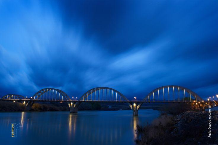 Bridge in Móra d'Ebre (Catalonia)