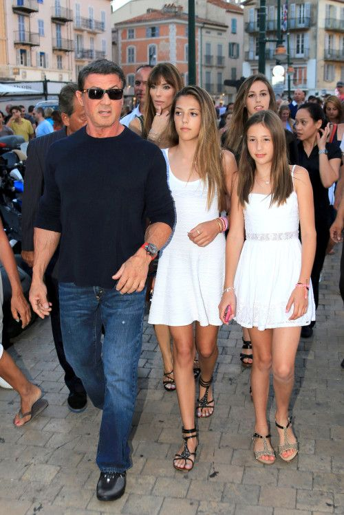 Sylvester Stallone Sylvester Stallone Top Hollywood Actors Celebrity Moms