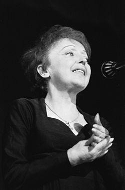 Η Εντίθ Πιάφ το 1962