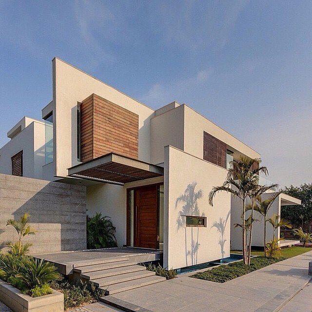 N85 Residence In New Delhi India: E4 House Beautiful Modern Home In Chhatarpur, Nueva Delhi