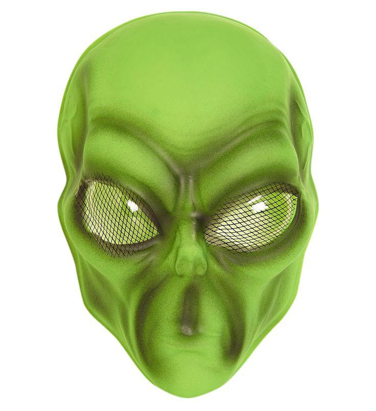 Disfraz tienda de disfraces Careta de Extraterrestre  Incluye: Careta  Composición: Plastico http://www.disfracessimon.com/complementos-disfraz/2500-careta-extraterrestre-p-2500.html
