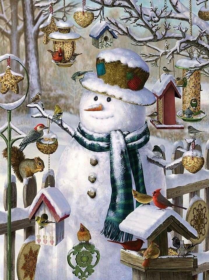 новогодние картинки со снеговиками для декупажа понимаем, что условиях
