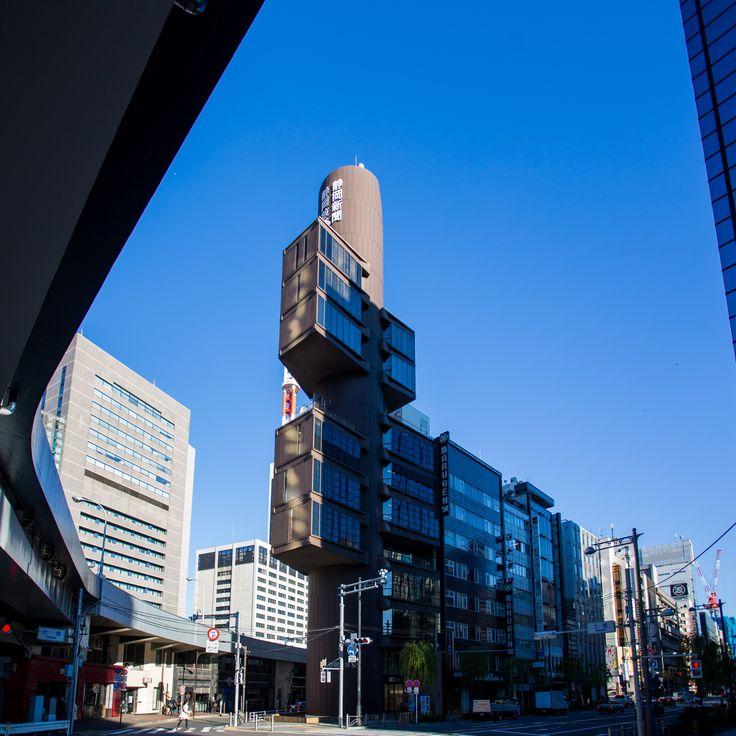 静岡新聞・静岡放送東京支社/丹下健三/Shizuoka Press and Broadcasting Center in Tokyo(completed in 1967)/Tange Kenzo ---------------------------- Shogo Motoyama facebook:https://www.facebook.com/ Twitter:@nrtbase_photo