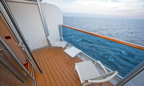 Once we win our free cruise we will win an upgrade to a for Alaska cruise balcony room