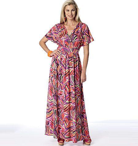 1000  images about Maxi Dress Patterns on Pinterest  Wrap dresses ...