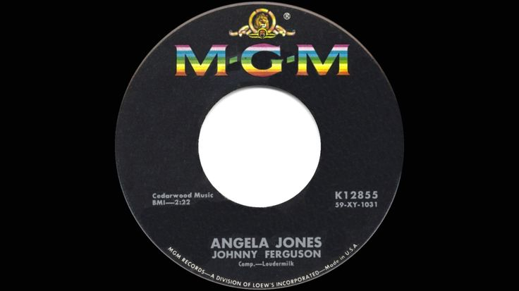 1960 HITS ARCHIVE: Angela Jones - Johnny Ferguson