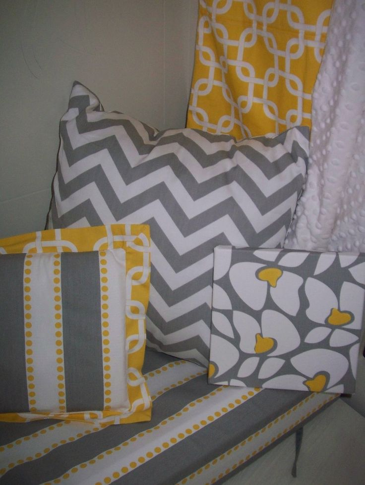 Grey and Yellow baby linen see more grey and yellow fabric options here:  http://www.studiocollection.co.za/classics.php