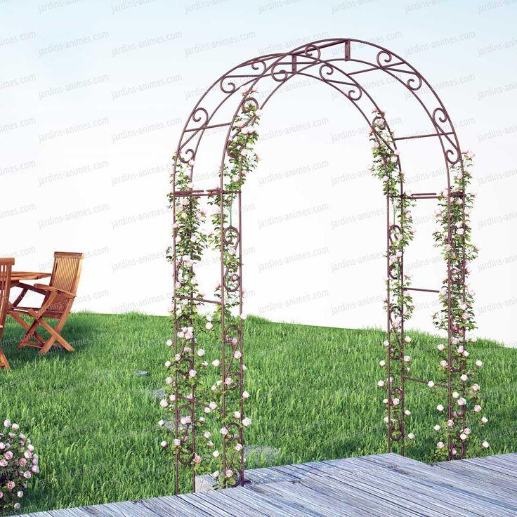 les 25 meilleures id es de la cat gorie arche jardin sur pinterest arche de jardin grosse. Black Bedroom Furniture Sets. Home Design Ideas