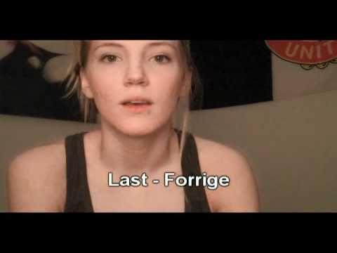 Norwegian Language: Time and stuff
