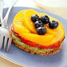 Taartjes met fruit