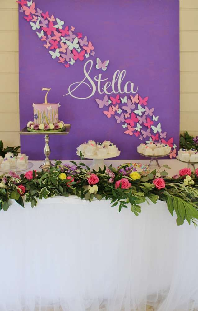 Butterflies Birthday Party Ideas | Photo 1 of 23