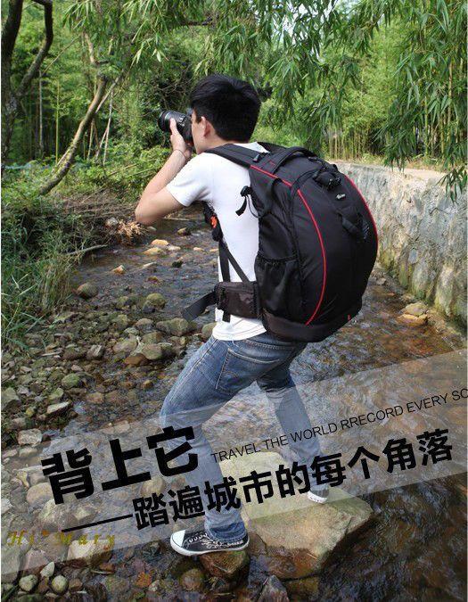 new packsack Backpack Professional Waterproof DSLR Camera bag for Canon camera #ruima