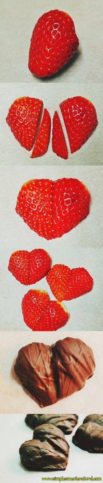 Simplesmente Natural: Corações de S. Valentim - Uma ideia bem saborosa :)