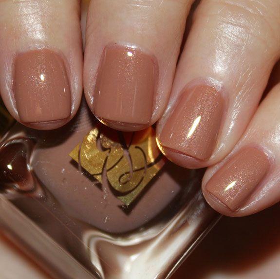 So Vain is a shimmery, warm light caramel shade. Estee Lauder