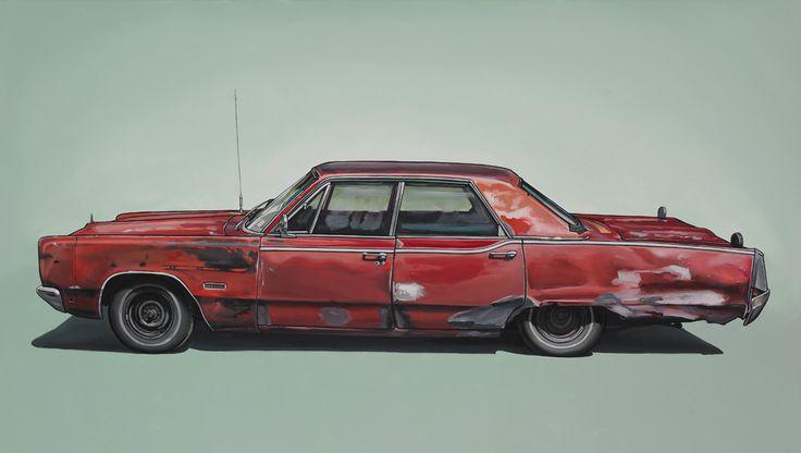http://www.kevincyr.net #painting #car