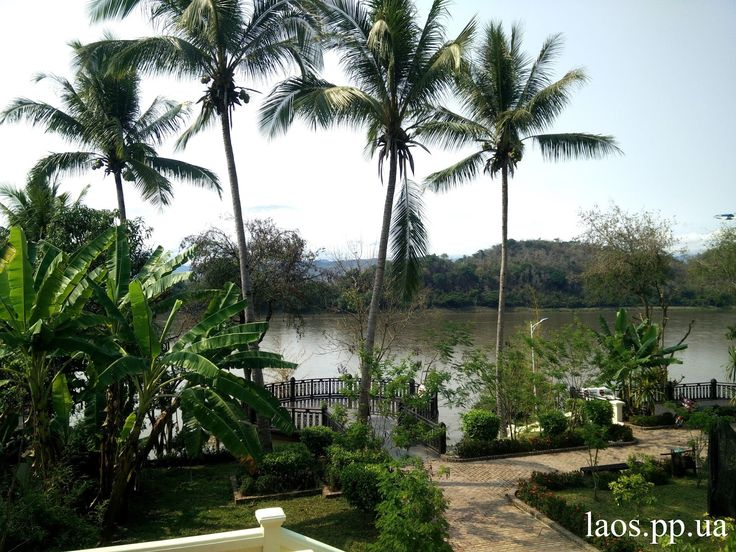 Набережная в Луанг Пхабанге