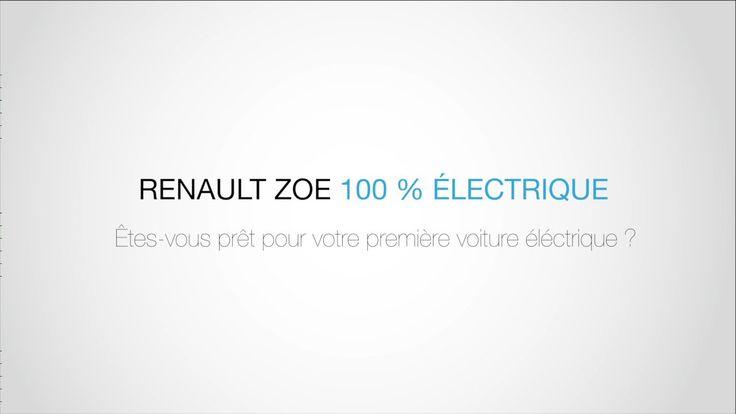 Renault Zoé - MONTAGE MOODBOARD  SPOT TV