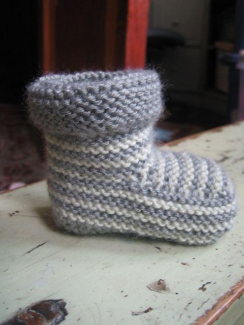 The 228 best Knit Baby socks, leggings & booties images on Pinterest ...
