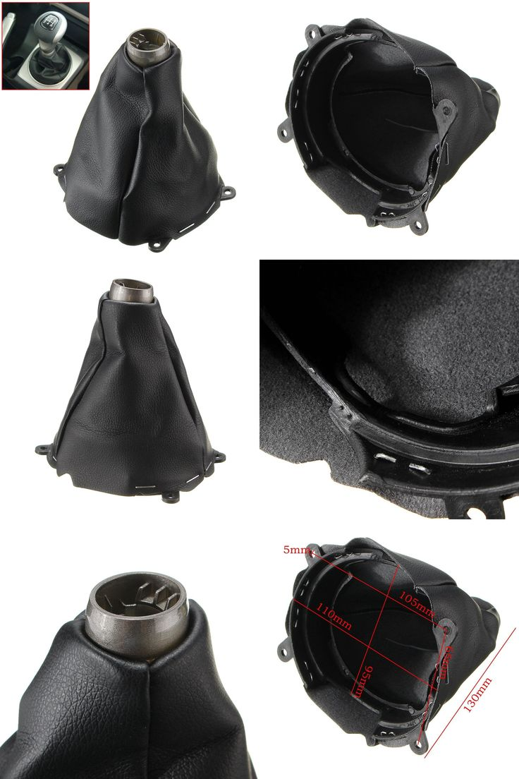 [Visit to Buy] Car Manual Leather Gear Gaiter Shift Shifter Boot For Honda for Civic Si 2006 2007 2008 2009 2010 2011 Black Gear Shift Collars #Advertisement