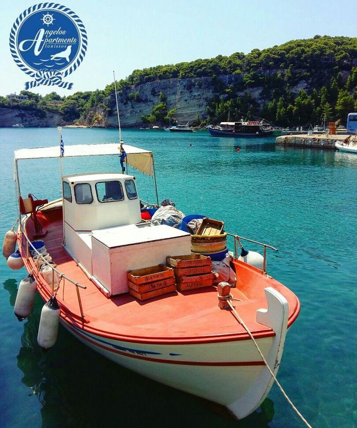 Port of Alonissos...⛵⛵ #angelos_apartments #Alonissos #Sporades #Greece #discoveralonissos #visitalonissos #island #port