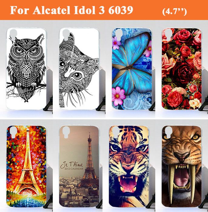 Alcatel One Touch Idol 3 6039 6039A 6039K 6039Y Phone Case Cover Colorful Painting Design Case For Alcatel Idol 3 4.7 inch #>=#>=#>=#>=#> Click on the pin to check out discount price, color, size, shipping, etc. Save and like it!
