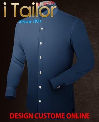 Design Custom Shirt 3D $19.95 stehkragenhemd Click http://itailor.de/shirt-product/stehkragenhemd_it2465-1.html