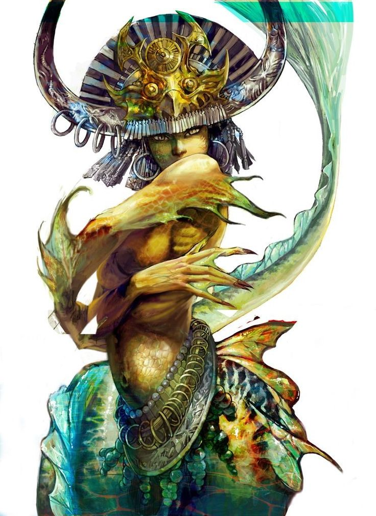 mermaid by lorland.chen