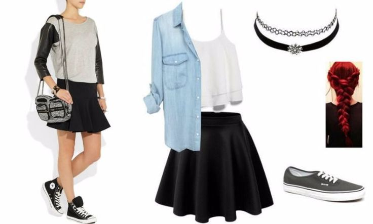 Teenagermode Trends – Skaterrock