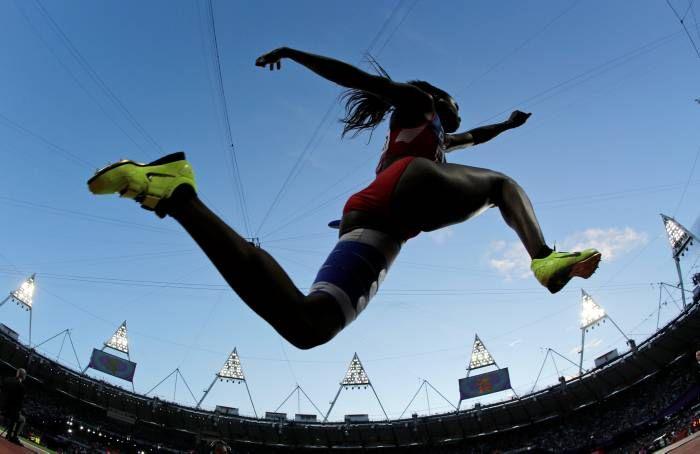 Caterine Ibargüen, medalla de plata en salto triple #ColombiaenLondres2012