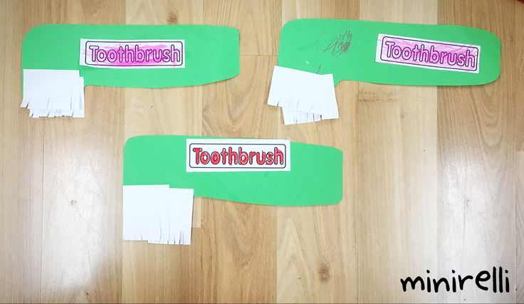 Continuing with our oral hygiene theme this week, we made some toothbrushes! You may need: Construction paper (any colour) White a4 paper A printer Small scissors for kids Glue stick We started off…