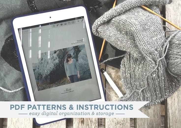 Organizing PDF Patterns & Instructions