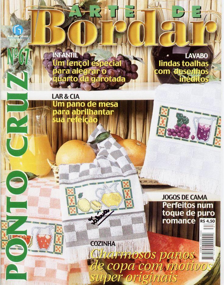 РУКОДЕЛИЕ:ВЯЗАНИЕ,ШИТЬЕ_КРОЙ: #Bordar67_pontocruz