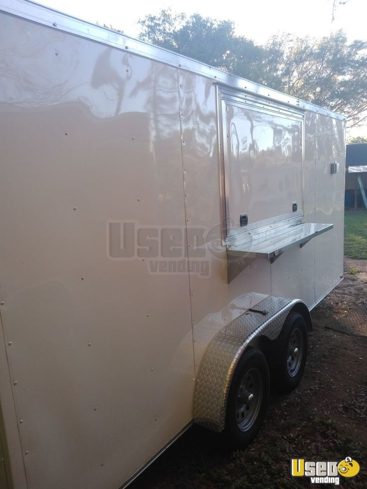 NEW 2019 7' x 16' Food Concession Trailer for Sale in